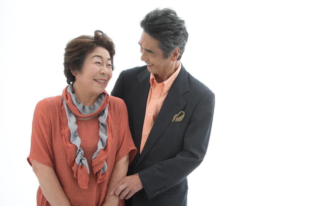 写真館 有楽町 新浦安 ご夫婦の写真
